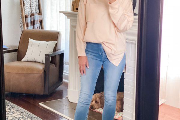 Amazon Fashion fall, sweater, jeans, booties